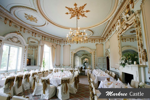 irelands most luxurious castle wedding venues