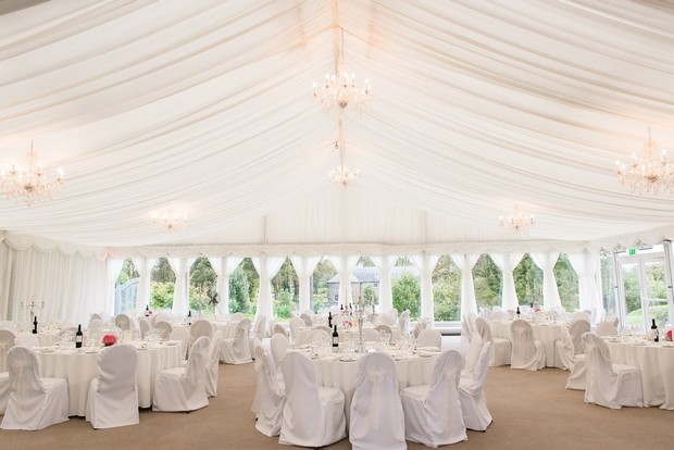 clonabreany house wedding marquee