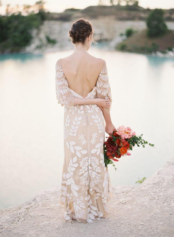 Rue de Seine 2015 Colección Young Love Dahlia Dress - weddingsonline.ie