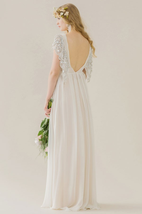 Rue de seine 2015 collection 39 young love 39 weddingsonline for Butterfly back wedding dress