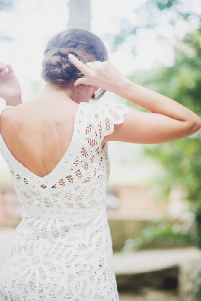 Rue de Seine 2015 Collection Young Love Violet Dress - weddingsonline.ie