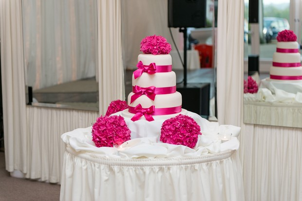 23-cerise-pink-wedding-cake