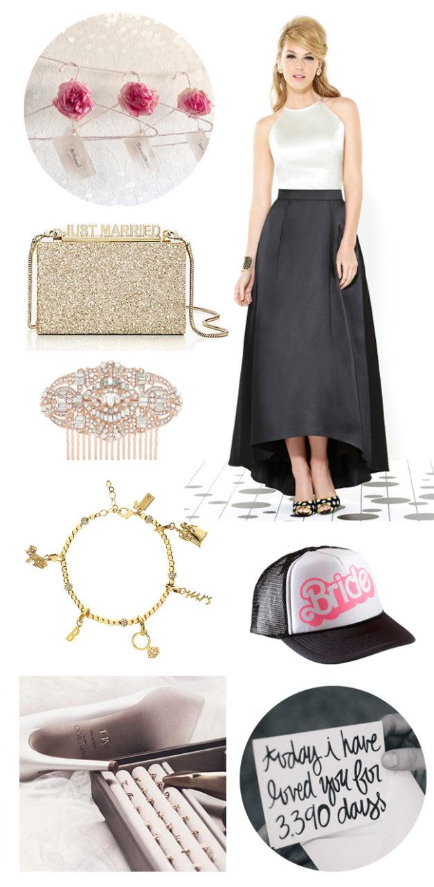 black-gold-personalised-wedding-ideas