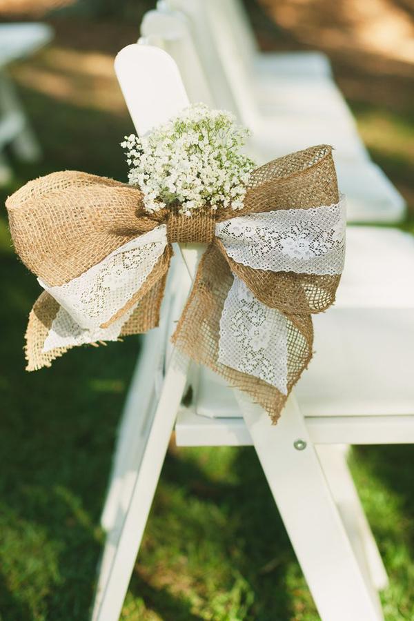 Wedding decor 20 of the prettiest pew ends weddingsonline - Bow decorations for weddings ...