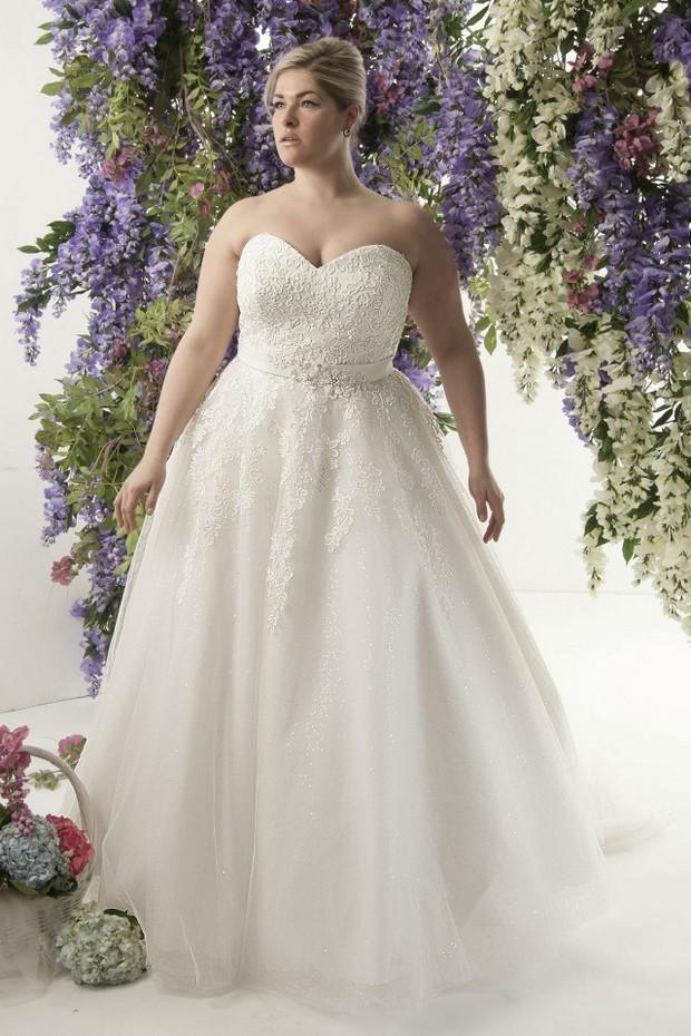 20 amazing plus size wedding dresses weddingsonline for Plus size wedding dresses