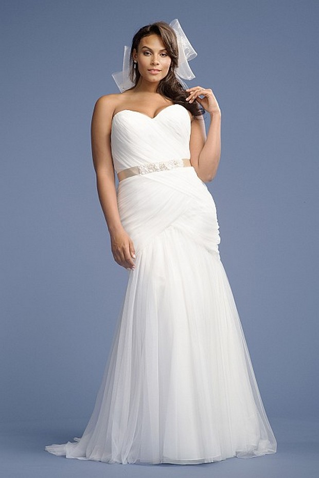 Grecian Plus Size Wedding Dresses