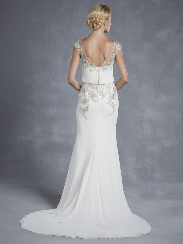 Wedding Dresses Chicago Harlem : Blue by enzoani collection weddings