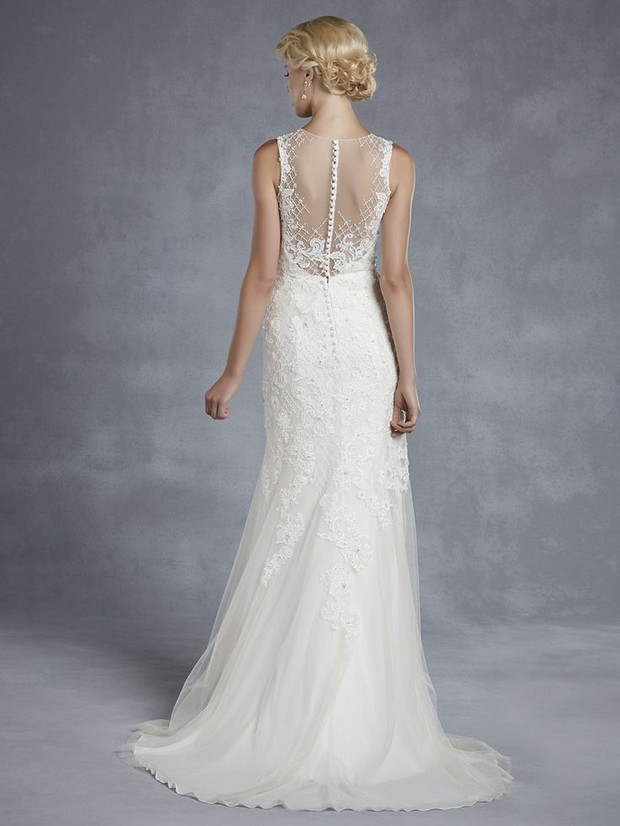Wedding Dresses With Lace Back Detail 68