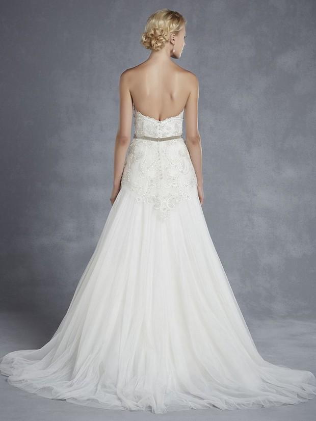 Blue by enzoani 2015 collection weddingsonline for Blue irish wedding dress
