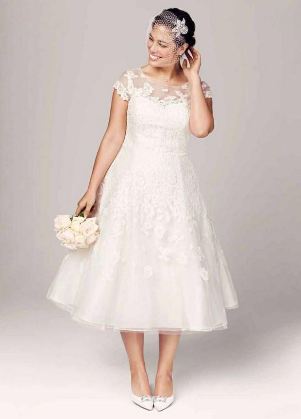 20 Amazing Plus Size Wedding Dresses | weddingsonline