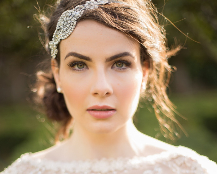 Hairband from Jules Bridal Jewellery