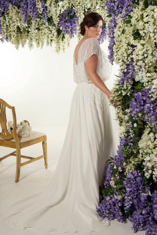 stylish-plus-size-wedding-dress-bride