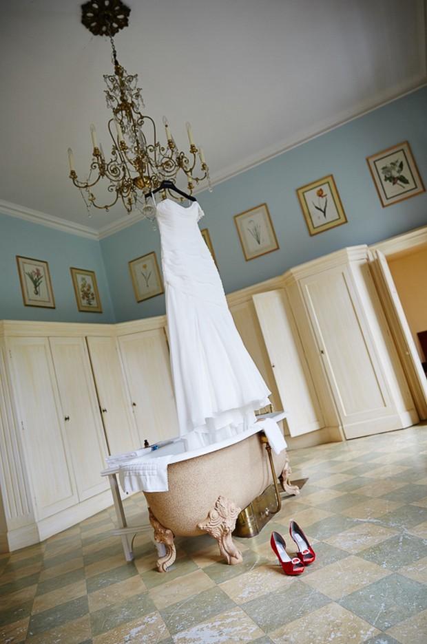 justin alexander sincerity wedding dress