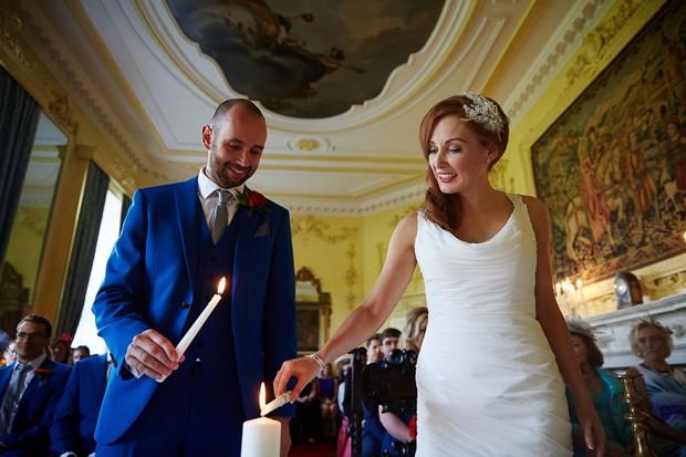 Luttrellstown Castle wedding ceremony real wedding blog