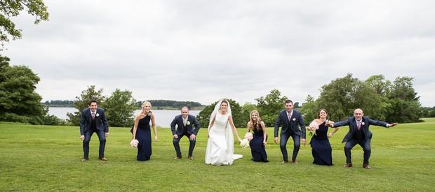 real wedding at tulfarris hotel ireland