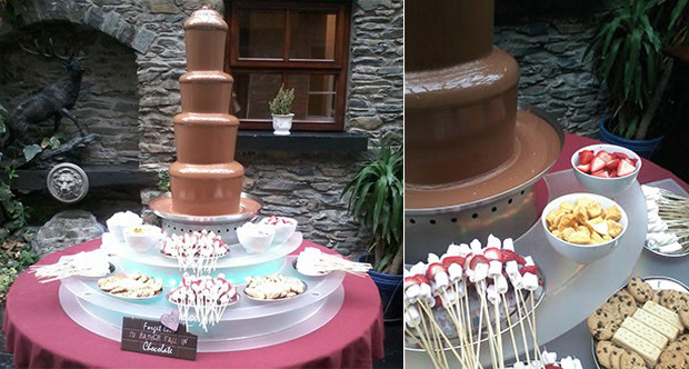 chocolate-fountain-wedding-ireland