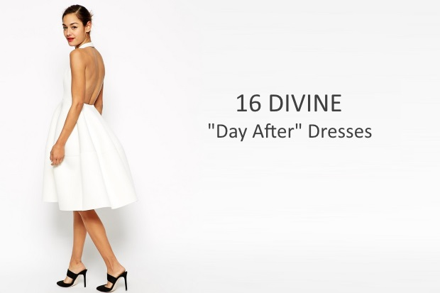 16 divine day after wedding dresses weddingsonline for White dress after wedding