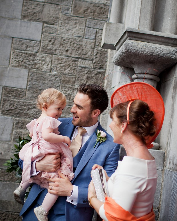 Weddingsonline Real Weddings: A Chic Coral Wedding At Carton House By Michelle Prunty