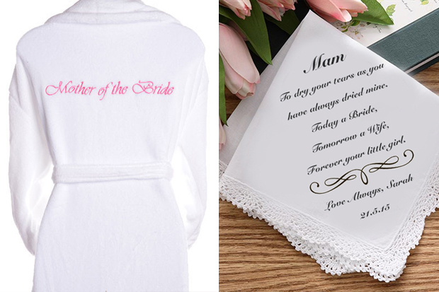 Mother of the Bride and Groom Gift Ideas