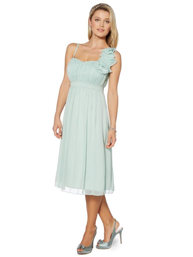 one-shoulder-floral-detail-mint-bridesmaid-dress-debenhams