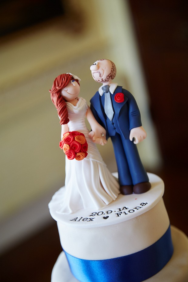 personalised wedding cake topper ireland fit for a princess luttrellstown castle wedding 18244