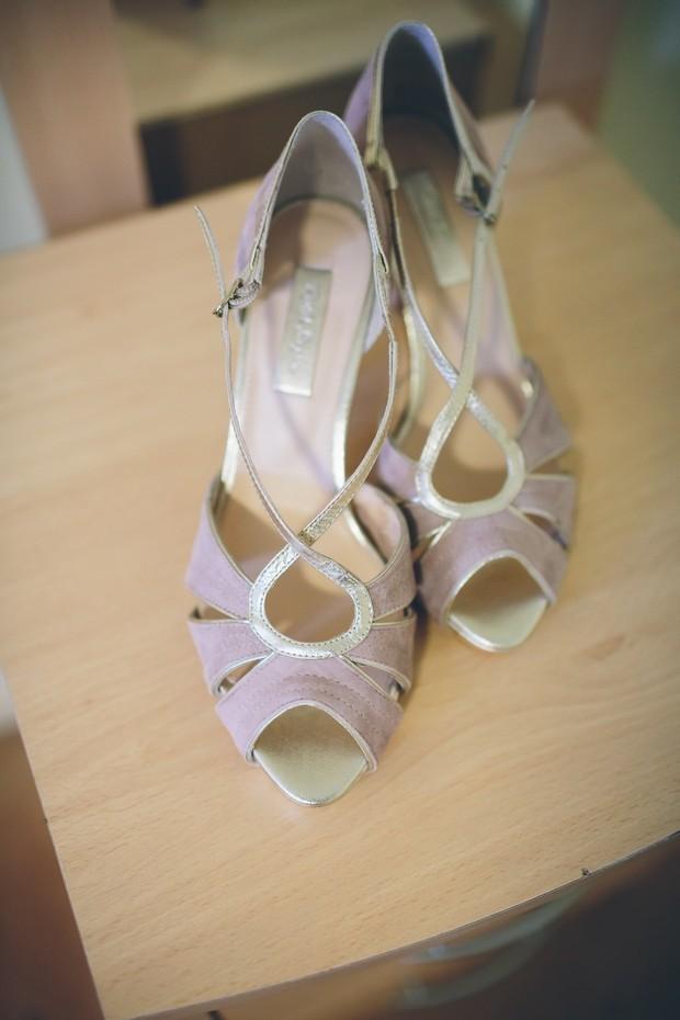 real bride rachel simpson victoria blush wedding shoes