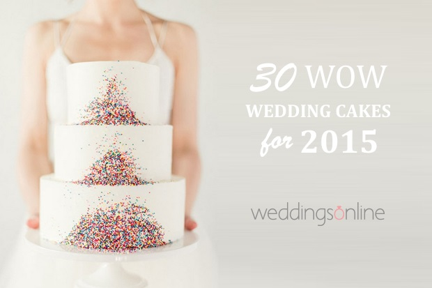 wedding cake styles 2017 30 wow wedding cakes for 2015 weddingsonline 25808