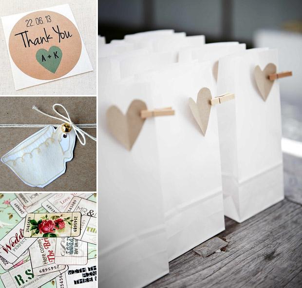 3 Super Easy Cute Diy Wedding Favour Bags Weddingsonline
