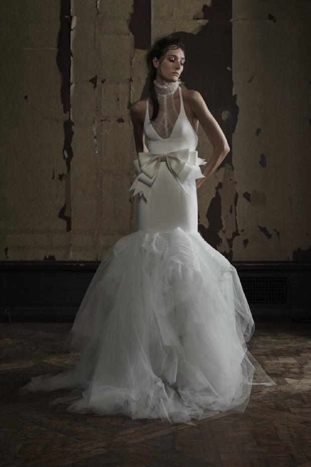 9de48ae4a0cd Bridal Fashion Week First Look: Vera Wang Spring 2016 Collection ...