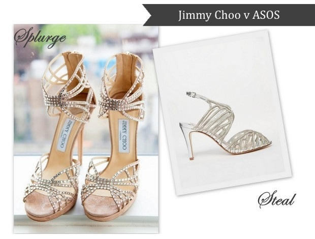 10 Jaw-Dropping Wedding Shoes: Splurge v. Steal Edition ...