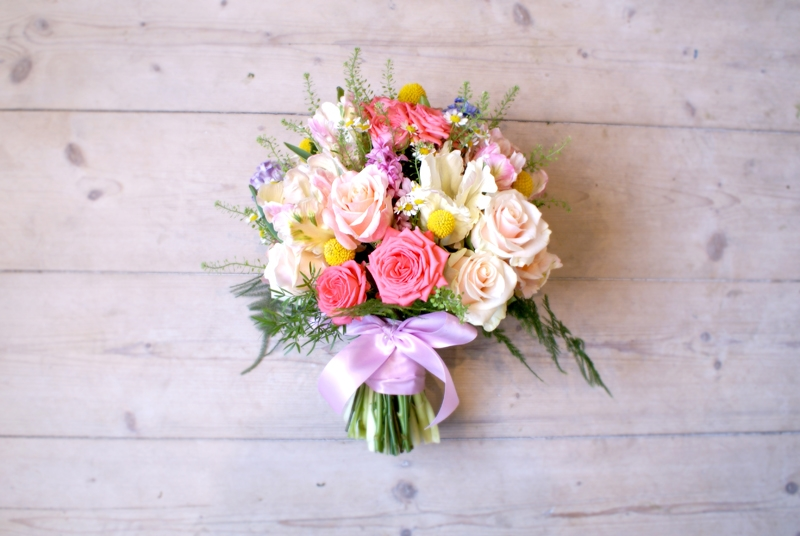 Pastel Easter Wedding Bouquet Bloomsday Bridal