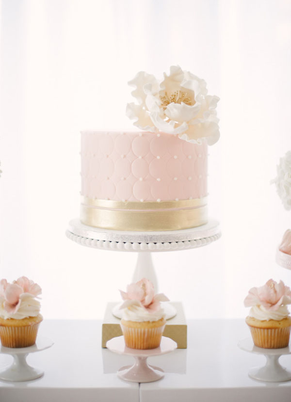One Tier Wedding Cake - Wedding Cake Flavors