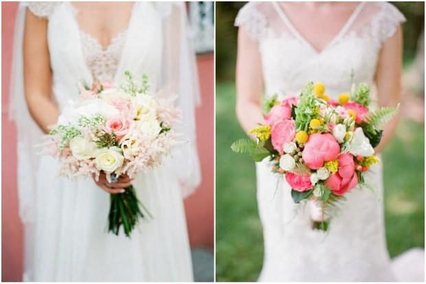 30 Stunning Spring Wedding Bouquets