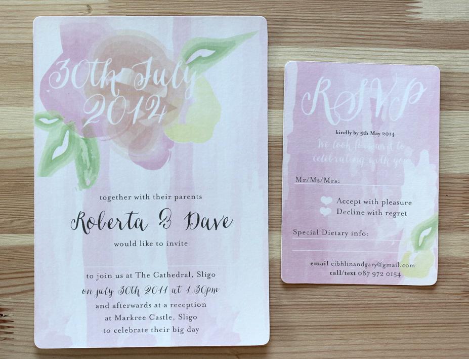 18 Fabulous Floral Spring Wedding Invitations | weddingsonline