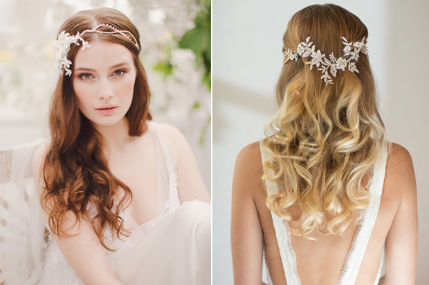 18 stunning wedding hair accessories for brides wearing their hair we never get tired of looking at gorgeous hairstyles and the same can be said for wedding hair accessories so today were combining both junglespirit Choice Image