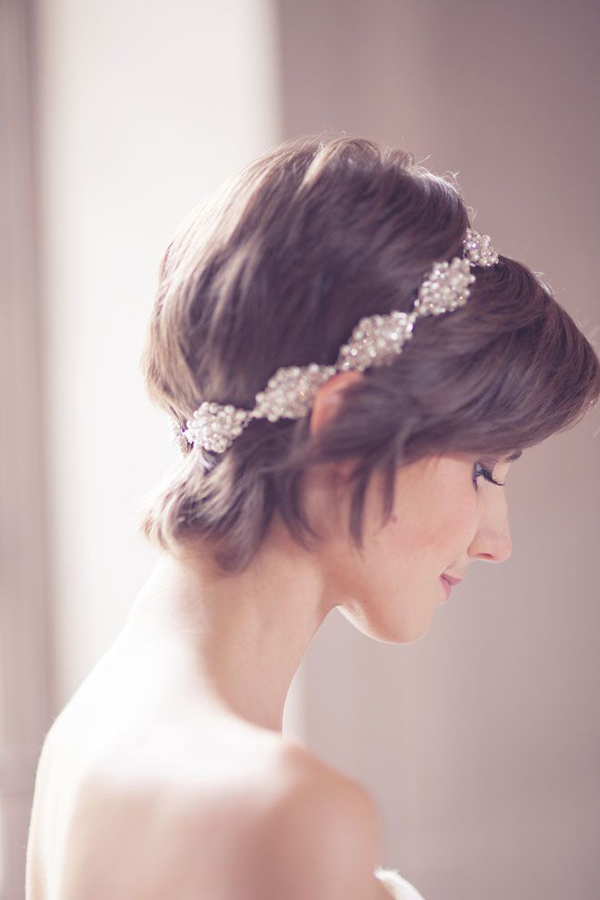 bride-with-sparkly-hairband-short-hair