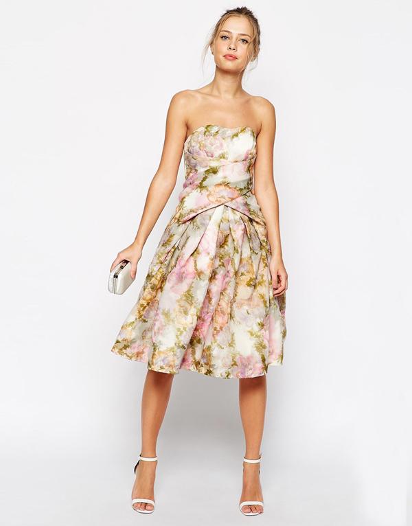 Wedding guest fashion 20 fab florals buys weddingsonline for Floral wedding guest dresses