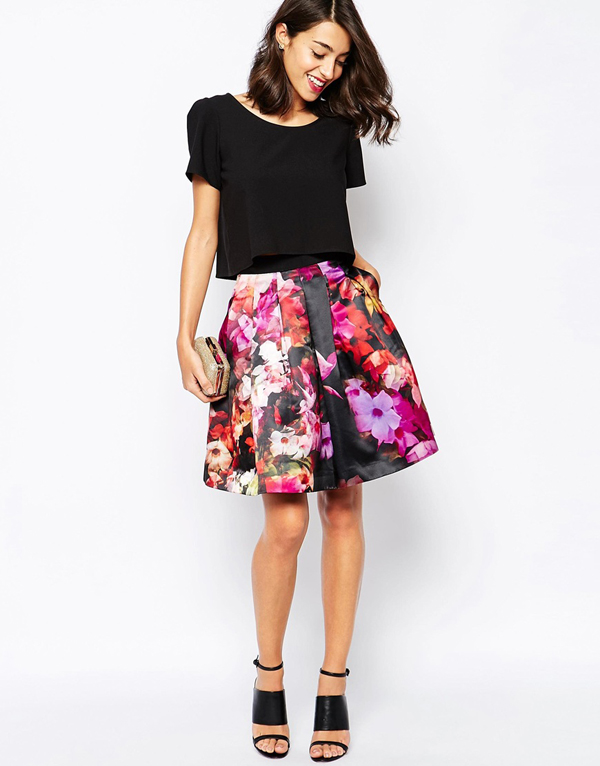 Full Midi Skirt Ted Baker Wedding Guest Fashion