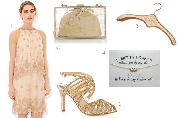 gatsby-style-bridesmaid-embellished-gold-theme-monsoon-isla
