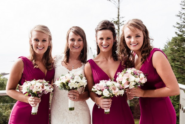 raspberry-bridesmaids-jk-dresses-wedding-bouquets (2)