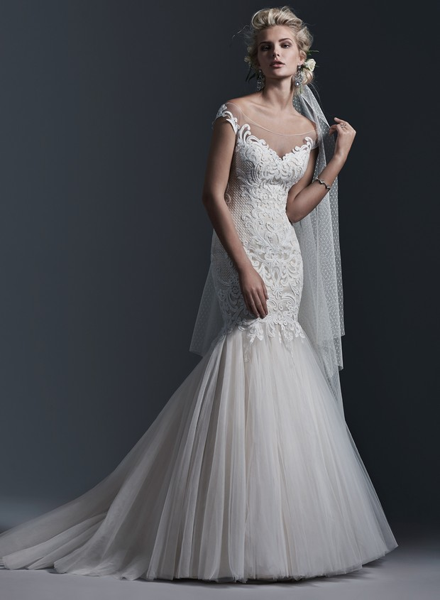 Lace Mermaid Wedding Dress Ireland : Fall head over heels for sottero midgley