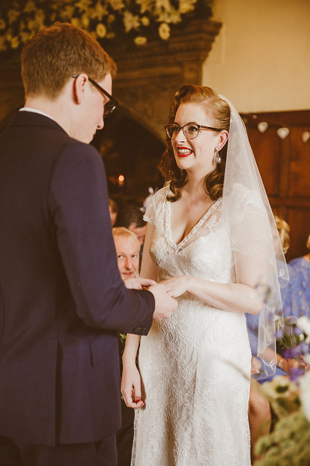 Bride Wears Glasses