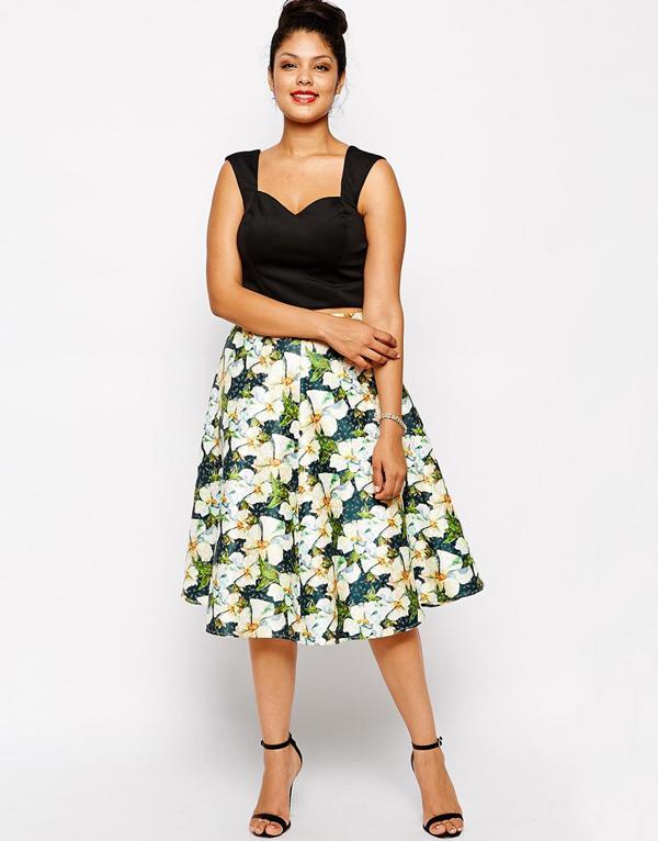 wedding-guest-fashion-floral-midi-skirt-