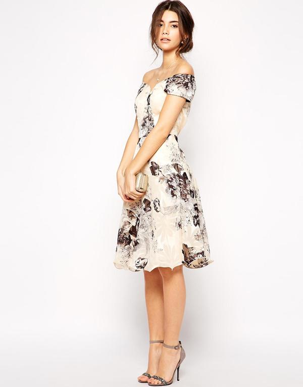wedding-guest-fashion-monochrom-floral-dress