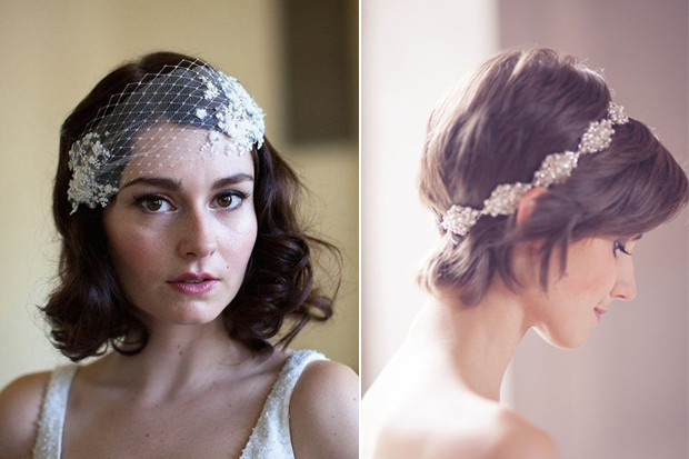 16 Romantic Wedding Hairstyles for Short Hair | weddingsonline