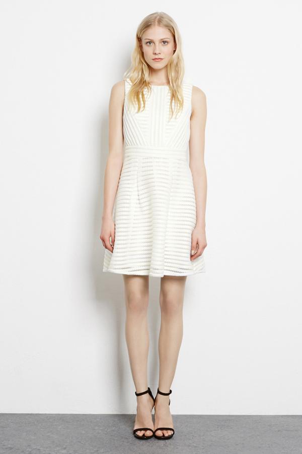 White Hen Party Dress