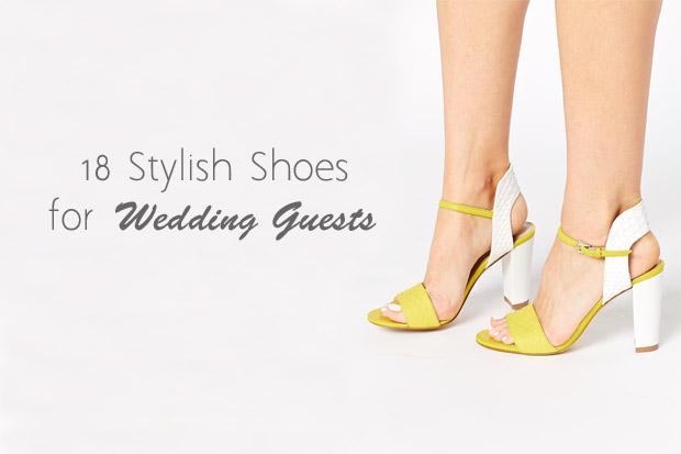 Wonderful Wedding Guest Fashion: Stylish Summer Shoes