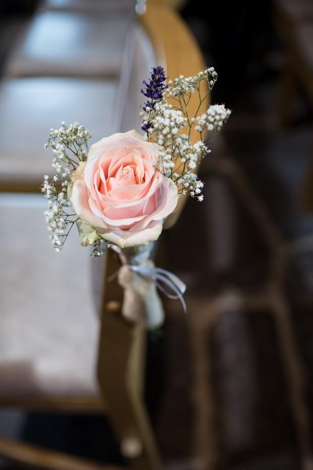 blush-pink-rose-pew-ends-wedding