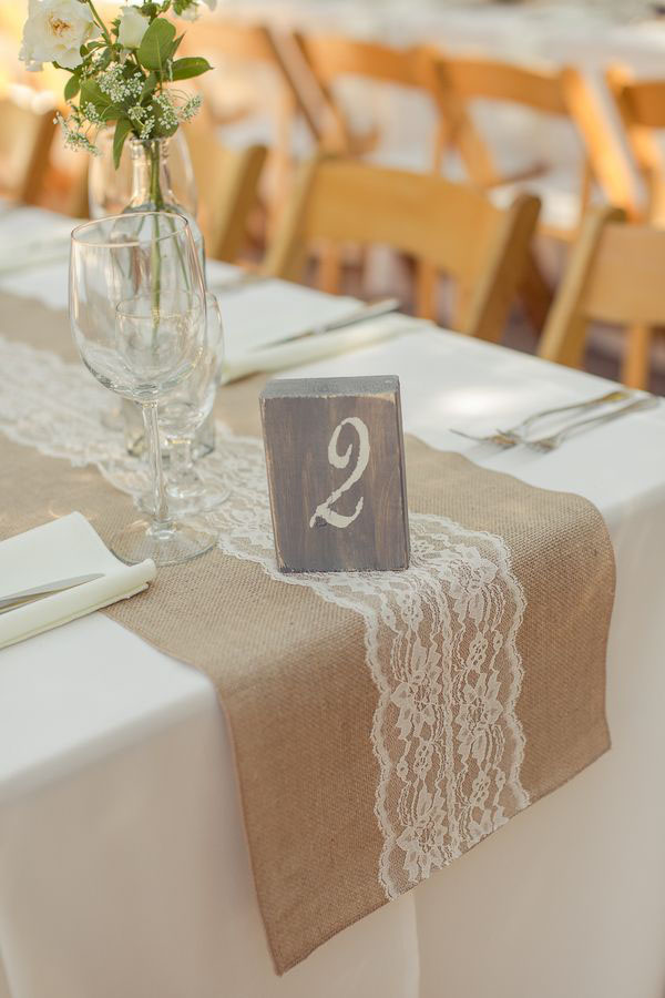 Runners pinterest  Table Fabulous 14 table wedding burlap runner Wedding