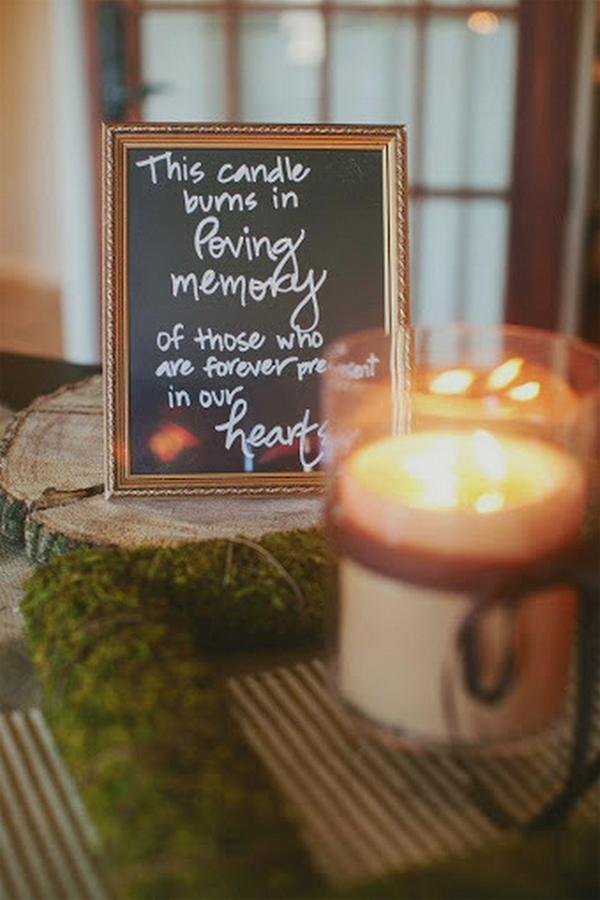 candle-burning-in-loving-memory-sign-wedding
